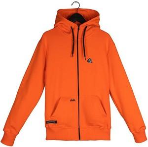 Pomarańczowa bluza Elade z bawełny