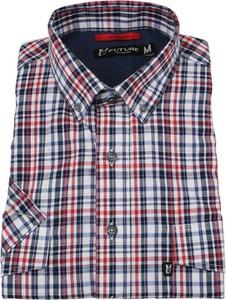 Koszula Jurel w stylu casual z krótkim rękawem