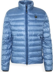 Niebieska kurtka Blauer Usa krótka w stylu casual
