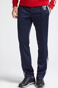 Niebieskie spodnie Guess z tkaniny