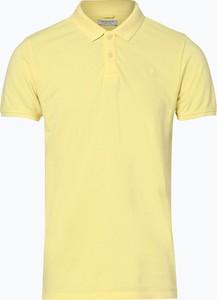 Żółta koszulka polo Dstrezzed w stylu casual