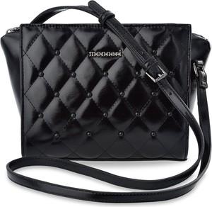Czarna torebka Monnari średnia przez ramię