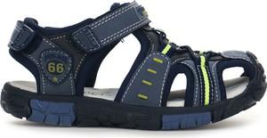 Granatowe buty dziecięce letnie American Club