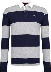 Koszulka polo Tommy Jeans w stylu casual z długim rękawem