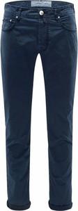 Niebieskie jeansy Jacob Cohen w stylu casual z jeansu
