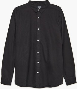 Czarna koszula Cropp w stylu casual z długim rękawem