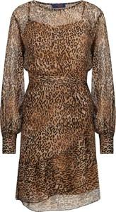 Sukienka Trussardi Jeans z okrągłym dekoltem w stylu casual mini