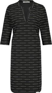 Sukienka Penn&ink N.y mini z dekoltem w kształcie litery v