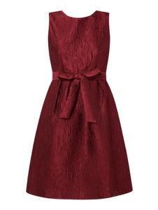 Czerwona sukienka Apart Glamour mini bez rękawów