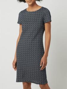 Sukienka Betty Barclay mini z okrągłym dekoltem w stylu casual