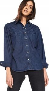 Niebieska koszula Levis z jeansu
