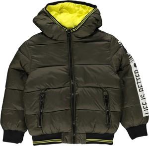 Zielona kurtka dziecięca OVS