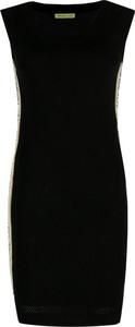 Sukienka Versace Jeans bez rękawów z okrągłym dekoltem