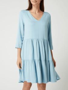 Sukienka Vila w stylu casual z tkaniny z długim rękawem