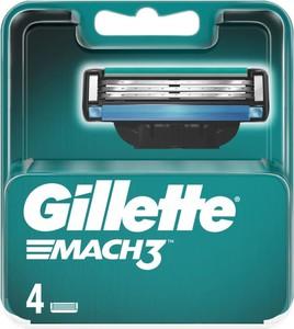 Gillette, wkłady ostrza do maszynki Mach3, 4 szt.