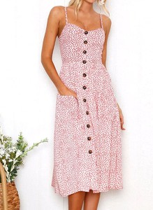 Sukienka Arilook midi na ramiączkach
