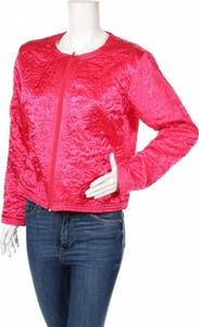 Różowa kurtka Ze-ze Concept w stylu casual krótka