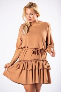 Brązowa sukienka M&m mini