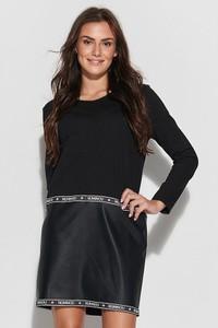 Czarna sukienka Numinou mini