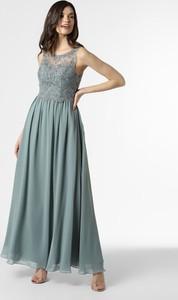 Sukienka Laona gorsetowa z szyfonu