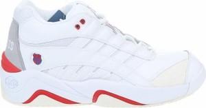 Buty sportowe K.swiss w sportowym stylu sznurowane ze skóry