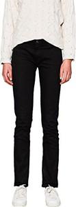 Czarne jeansy ESPRIT