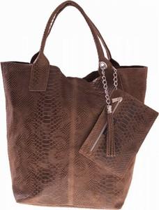 98eb04e71727e torebki damskie worki skórzane - stylowo i modnie z Allani