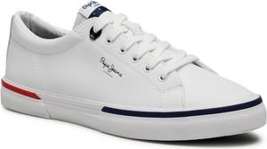 Pepe Jeans Tenisówki Kenton Smart Court PMS30701 Biały