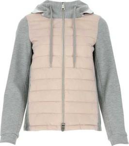 Różowa kurtka Herno krótka w stylu casual