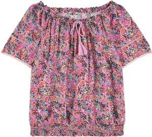 Bluzka dziecięca Tom Tailor z krótkim rękawem dla dziewczynek
