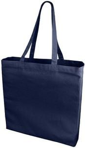Granatowa torba podróżna Upominkarnia z bawełny