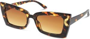 Brązowe okulary damskie Seen