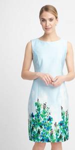 Sukienka QUIOSQUE bez rękawów prosta mini