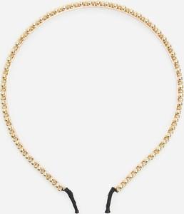 Reserved - Błyszcząca opaska do włosów - Złoty