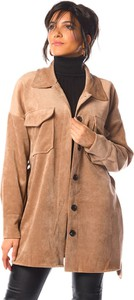 Brązowy płaszcz La Fabrique Du Manteau