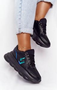 Czarne buty sportowe Lu Boo