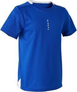Niebieska koszulka dziecięca Kipsta
