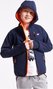 Niebieska kurtka dziecięca 4F z plaru