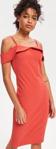 Pomarańczowa sukienka Reserved