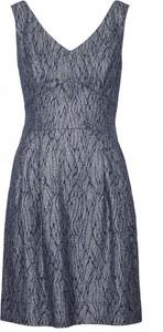 Niebieska sukienka VISSAVI bez rękawów