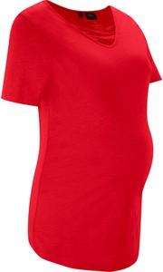 Shirt ciążowy z bawełny organicznej   bonprix