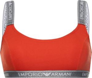 Czerwony biustonosz Emporio Armani