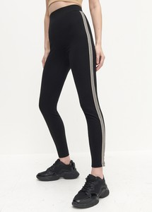 Czarne legginsy Reserved