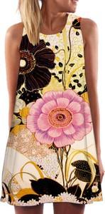 Sukienka Elegrina mini bez rękawów