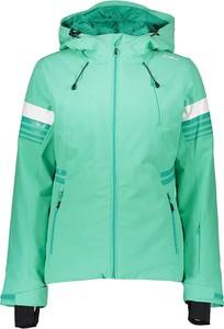 Zielona kurtka CMP z tkaniny krótka