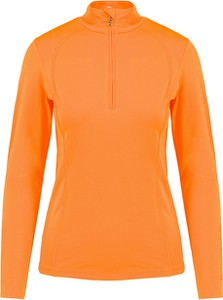 Pomarańczowy sweter Bogner w stylu casual