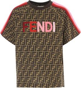 Bluzka dziecięca Fendi z bawełny