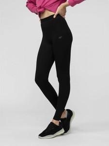 Czarne spodnie 4F w sportowym stylu