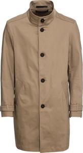 Brązowy płaszcz męski Drykorn z bawełny
