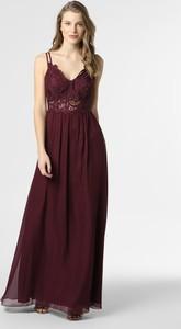 Czerwona sukienka SUDDENLY Princess z dekoltem w kształcie litery v